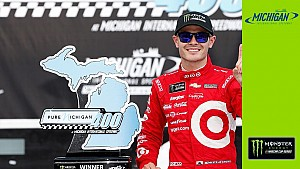 Larson: 'Feels amazing to steal one'