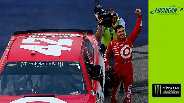 Larson: 'I was running a few options through my head'