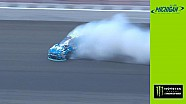 Jimmie Johnson in practice wreck, forced to backup at Michigan
