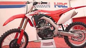 The European unveil of the 2018 Honda CRF250R