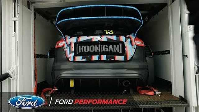 How Hoonigan Racing Division transports Ken Block's Focus RS RX | Ford Performance
