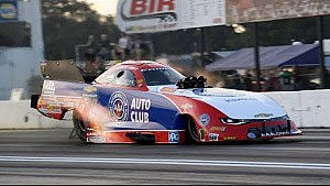 Robert Hight makes the first Funny car 3.7 pass