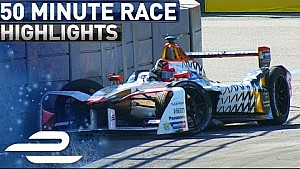 Hydro-Quebec Montreal ePrix 2017 (round 12) extended highlights - Formula E