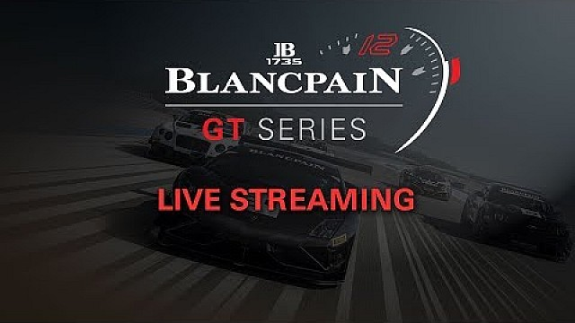 Live: Qualifying race - Hungary - Blancpain Sprint Cup