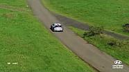 Almanya Rallisi'nin en iyi anları: Heli ve drone Hyundai Motorsport 2017