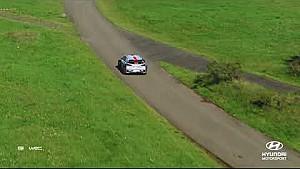 Rally Alemania lo mejor de: Heli y drone Hyundai Motorsport 2017