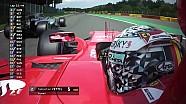 2017 Belçika GP - Yarış yeniden başlıyor