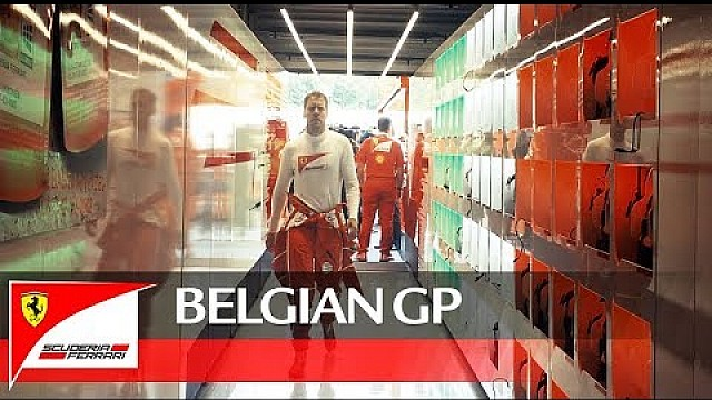 Belgian Grand Prix- Behind the start