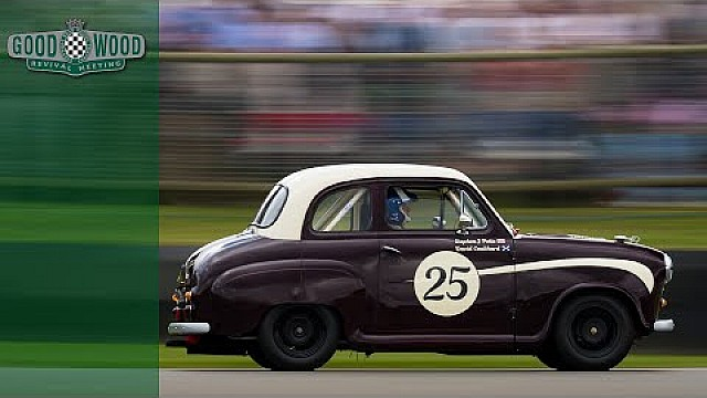 David Coulthard im Austin A35