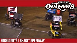 World of Outlaws Craftsman sprint cars Skagit speedway September 1, 2017 | Highlights