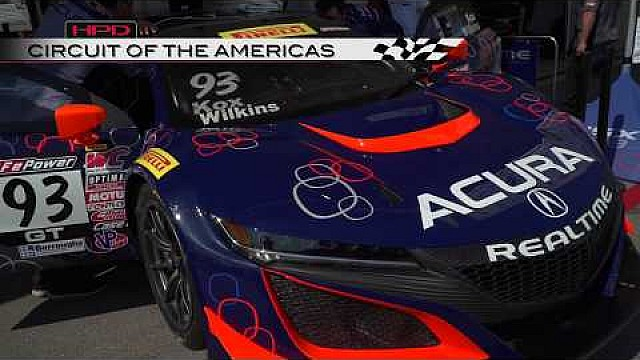 HPD Trackside -- Acura Pirelli World Challenge COTA races 1/2