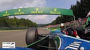 Mick Schumacher en el Benetton B194