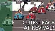 Goodwood Revival: Balap pedal car anak-anak