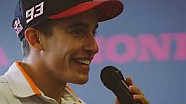 MotoGP riders visit Honda to talk girls, pants and winning
