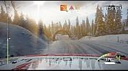 WRC 7 gameplay: Lefebvre @ Rally de Suecia