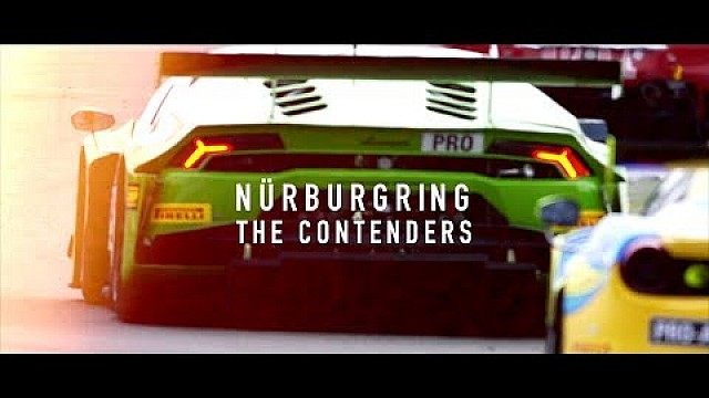 The contenders - Nurburgring - Blancpain GT Series Sprint Cup 2017