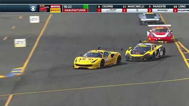 PWC 2017 Sonoma stream highlights GT round 9