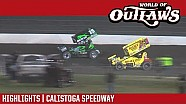 World of Outlaws Craftsman sprint cars Calistoga speedway September 16, 2017 | Highlights