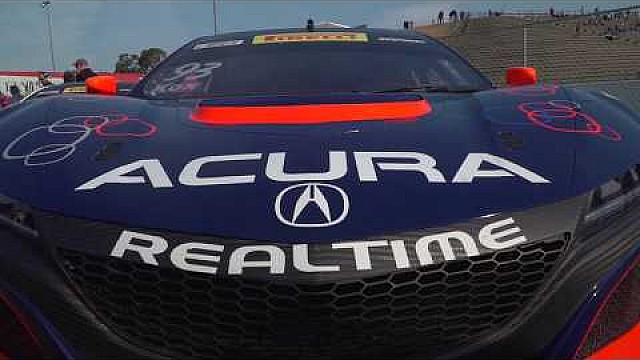 HPD Trackside -- Acura NSX GT3 Pirelli World Challenge Sonoma race 2 report