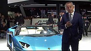Lamborghini Aventador S Roadster: design and innovation