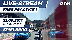 DTM Spielberg: 1. Training