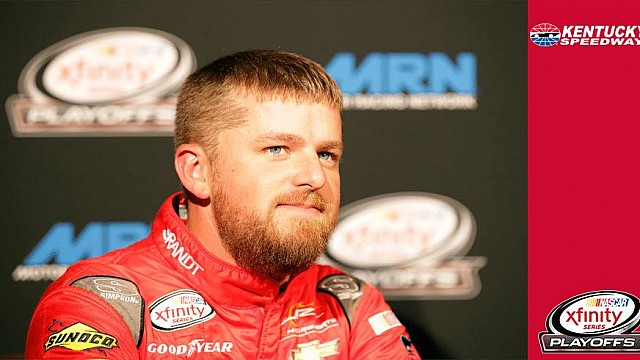 Justin Allgaier overcomes early trouble at Kentucky