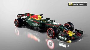 Konsep fantasi mobil Aston Martin Red Bull Racing