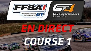 Course 1 - Barcelona 2017 - GT4 European series Southern cup