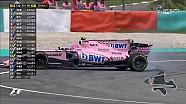 2017 Malezya GP - Ocon Spin Attı