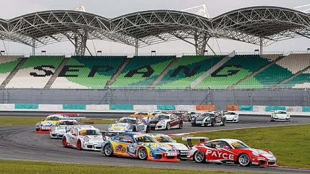 Porsche Carrera Cup Australia - Sepang : Full highlights program 2017