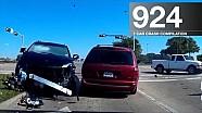 Car crash compilation 924 - October 2017