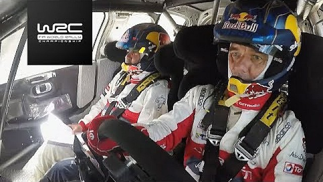 Sébastien Loeb tests Citroen´s C3 WRC