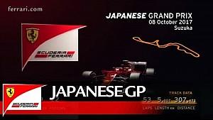 Previo del Grand Premio de Japón - Scuderia Ferrari 2017