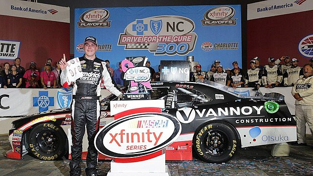 Recap: Alex Bowman captures the checkered flag at Charlotte