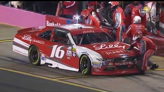 Roush Fenway crew member Telvin McClurkin gets hit by car and finishes race!