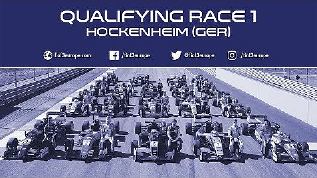 Qualifying for race 1 at Hockenheim