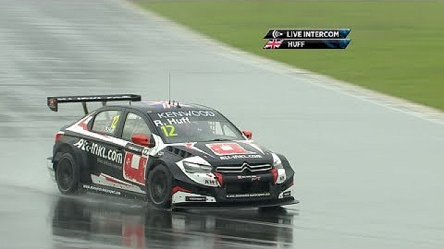 Onboard join Rob Huff during a wet lap of Ningbo Speedpark