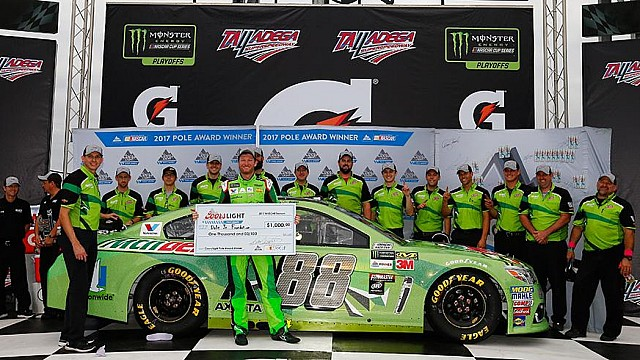 Dale Jr. on 'Dega: 'We've got a great shot at it'