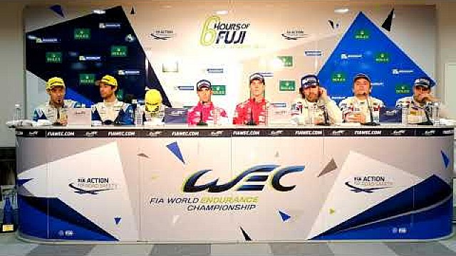 2017 WEC 6 hours of Fuji - Class winners press conference