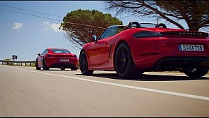 The new 718 GTS models – Unleashed in Sicily.