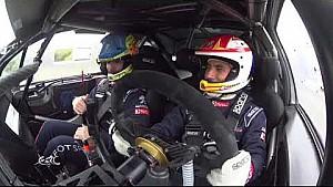 Peugeot Sport test session