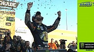 Truex, No. 78 crew celebrates bittersweet win