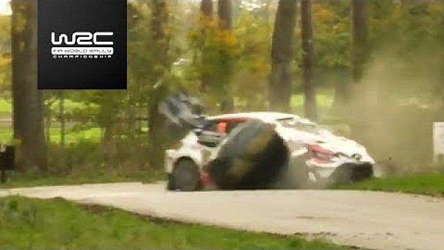 Accidente de Juho Hänninen en TC 14 / Dayinsure Gales rally de GB 2017