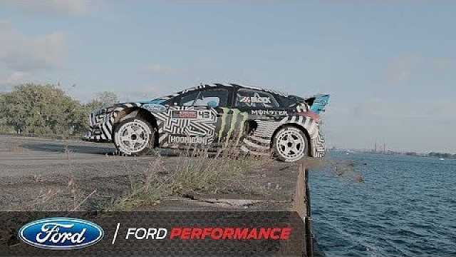 Ken Block's Gymkhana NINE extended cut: Water's edge | Ford Performance