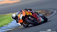 Il video del test premio di Tony Cairoli sulla KTM MotoGP a Valencia
