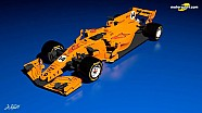 Концепція лівреї McLaren-Renault F1