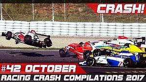 ¡Racingfail! Semana de compilación accidentes 42 octubre de 2017