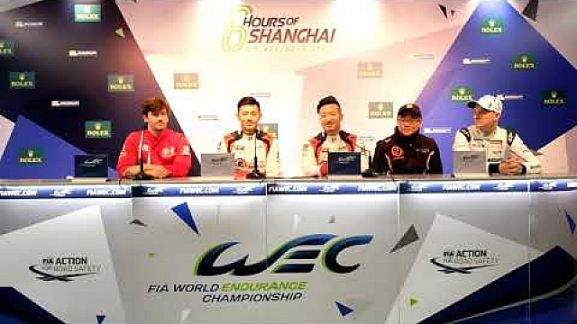 WEC - 2017 6 hours of Shanghai - Pre-event press conference