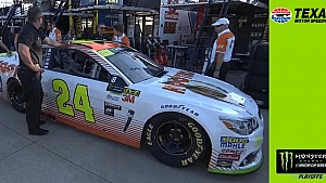 Elliott's No. 24 car fails inspection, misses qualifying at Texas