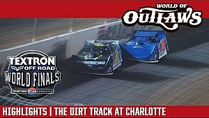 World of Outlaws Craftsman late models the dirt track at Charlotte November 4th, 2017 | Highlights